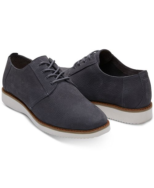 TOMS Men's Preston Nubuck Lace-Up Shoes