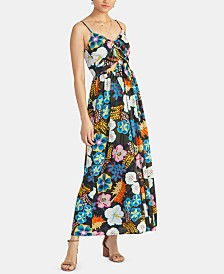 RACHEL Rachel Roy Magnolia Double-Tie Maxi Dress