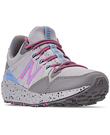 Big Girls' Cruz Crag V1 Trail Running Sneakers from Finish Line