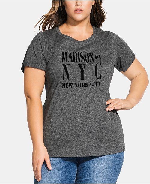 City Chic Trendy Plus Size NYC T-Shirt