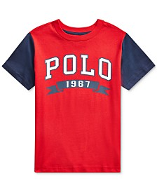 Polo Ralph Lauren Toddler Boys Americana Jersey T-Shirt