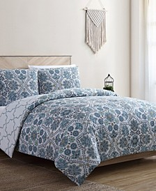 Anges 3-Pc. Full/Queen Duvet Cover Set