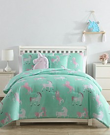 Unicorn 5-Piece Comforter Set - Full