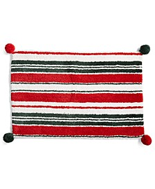 "Candy Stripe 20"" x 30"" Bath Rug, Created for Macy's"