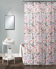 "Pixie Fox 72"" x 72"" Shower Curtain"
