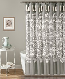 "Boho Medallion 72"" x 72"" Shower Curtain"