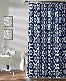 "Venus Medallion 72"" x 72"" Shower Curtain"