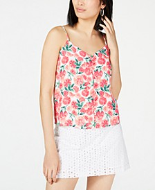 Button Down-Camisole, Created for Macy's
