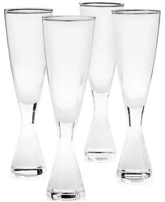 Plateau Champagne Glasses, Set of 4, Created for Macy's