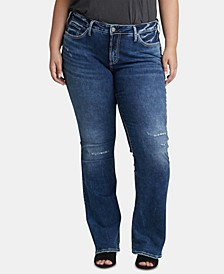 Trendy Plus Size Bootcut Jeans