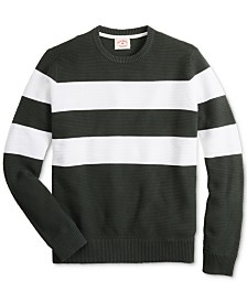 Brooks Brothers Men's Striped Sweater