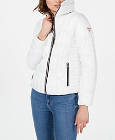 High-Shine Puffer Coat