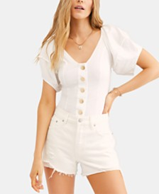 Free People Not Basic Bodysuit