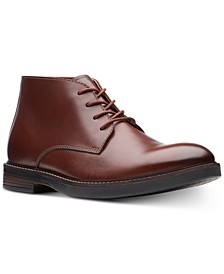 Men's Paulson Mid Mahogany Leather Casual Boots