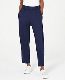 Organic Pull-On Tapered Pants, Regular & Petite