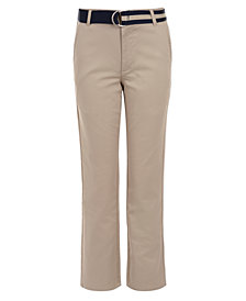 Nautica Little Boys Belted Twill Pants