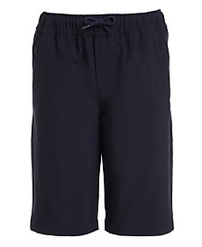 Nautica Big Boys Husky Lowell Stretch Khaki Jogger Shorts