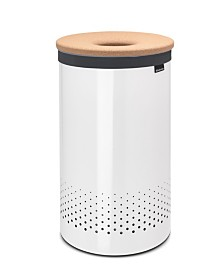 Brabantia Laundry Hamper, 16 Gallon , Cork Lid