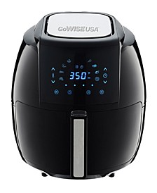 8-in-1 5.8-Qt Air Fryer XL with 6 Piece Accessory Kit