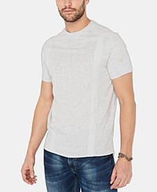 Men's Kalit Textured Tonal Taped T-Shirt