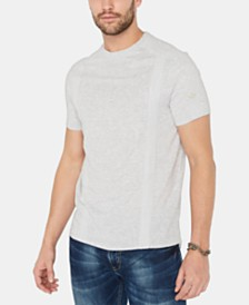 Buffalo David Bitton Men's Kalit Textured Tonal Taped T-Shirt
