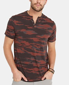 Buffalo David Bitton Men's Kabolt Camouflage Henley