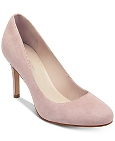Chris Round-Toe Pumps