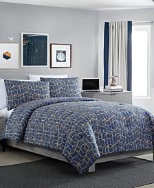 Ironclad 3-Pc. Full/Queen Comforter Set