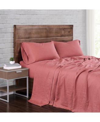 Flax Linen Queen Sheet Set