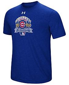 Under Armour Men's Chicago Cubs Signature Event Tri-Blend T-Shirt