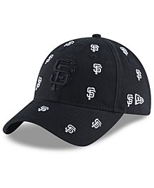 Women's San Francisco Giants Logo Scatter Adjustable 9TWENTY Cap