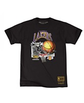 0c911aa37b1 Mitchell   Ness Men s Los Angeles Lakers Back to 90s T-Shirt