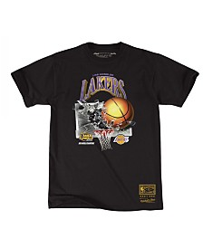 Mitchell & Ness Men's Los Angeles Lakers Back to 90s T-Shirt