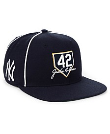 '47 Brand New York Yankees Jackie Robinson 42 Team Snapback Cap