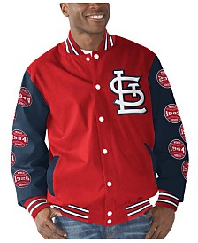 G-III Sports Men's St. Louis Cardinals Game Ball Commemorative Jacket