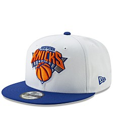 New Era New York Knicks White XLT 9FIFTY Cap