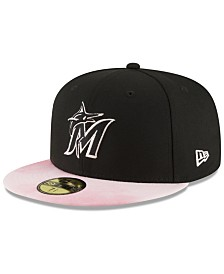 New Era Miami Marlins Mothers Day 59FIFTY Fitted Cap