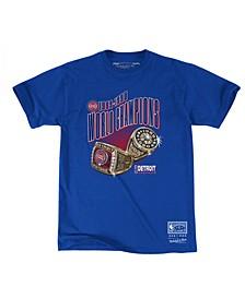 Men's Detroit Pistons Back to 90s T-Shirt