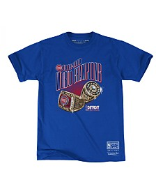 Mitchell & Ness Men's Detroit Pistons Back to 90s T-Shirt