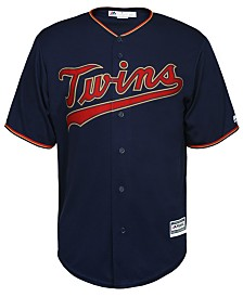 Majestic Men's Minnesota Twins Blank Replica Cool Base Jersey