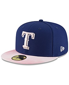 Texas Rangers Mothers Day 59FIFTY Fitted Cap
