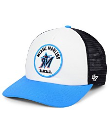 '47 Brand Miami Marlins Swell Trucker MVP Cap