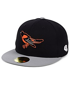 Baltimore Orioles Cooperstown Flip 59FIFTY Fitted Cap