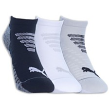 Puma 3-Pack Women's 1/2 Terry Low-Cut Socks