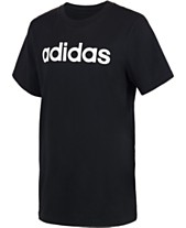 8ebc6c892f76 adidas Big Boys Logo-Print Cotton T-Shirt