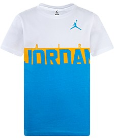 Jordan Little Boys Logo-Print Cotton T-Shirt