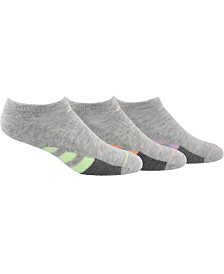 adidas 3-Pk. Cushioned No-Show Women's Socks