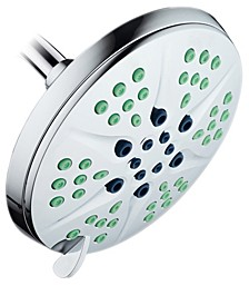 Antimicrobial Luxury Rain Shower Head
