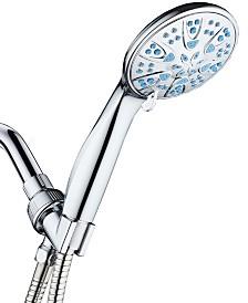 Antimicrobial Hand Shower, Aqua Blue