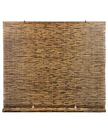 Radiance Peeled and Polished Reed Cord Free Roll-Up Shade